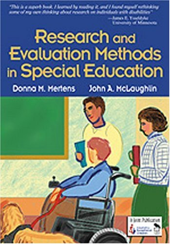Research and Evaluation Methods in Special Education 9780761946533