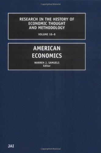 American Economics 9780762306350