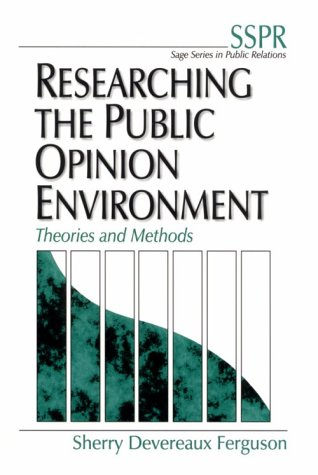 Researching the Public Opinion Environment: Theories and Methods 9780761915317