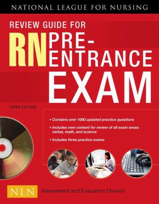 Review Guide for RN Pre-Entrance Exam [With CDROM] - 3rd Edition