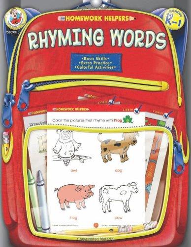 Rhyming Words, Homework Helpers, Grades PreK-1 9780768206845