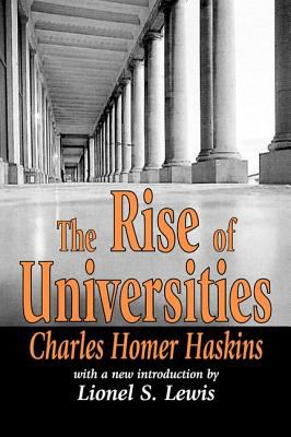 Rise of Universities 9780765808950