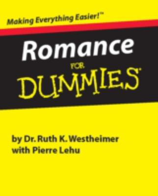 Romance for Dummies 9780762412440