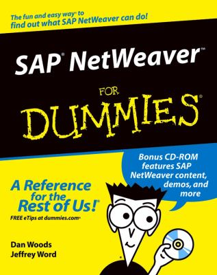 SAP Netweaver for Dummies [With CDROM] 9780764568831