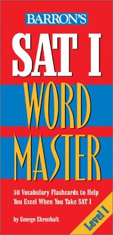 SAT I Wordmaster Level I 9780764175176