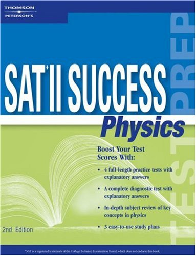 SAT II Success Physics, 2nd Ed 9780768909609
