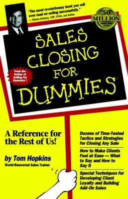 Sales Closing for Dummies 9780764550638