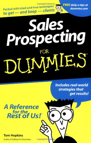 Sales Prospecting for Dummies 9780764550669