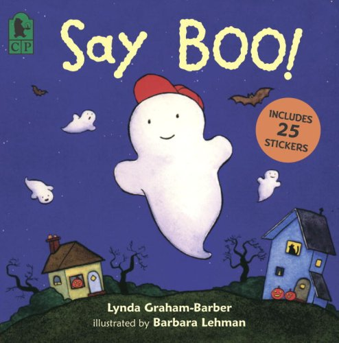 Say Boo! [With 25 Spooky Stickers] 9780763629113