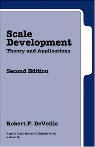 Scale Development: Theory and Applications 9780761926054
