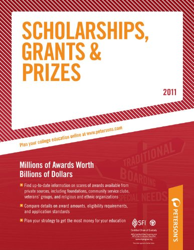 Peterson's Scholarships, Grants, & Prizes 9780768928822