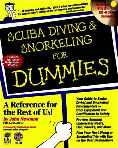 Scuba Diving & Snorkeling for Dummies 9780764551512