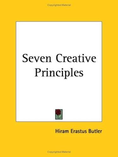 Seven Creative Principles 9780766102422