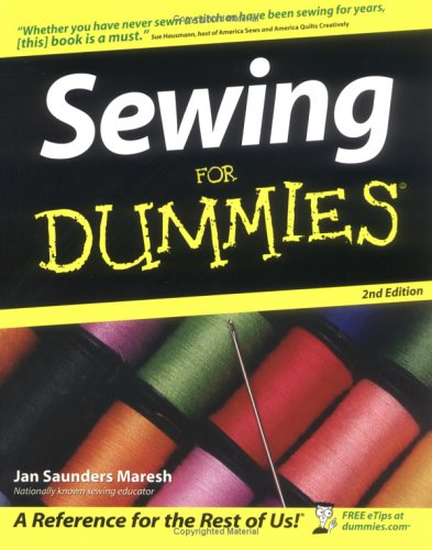 Sewing for Dummies 9780764568473