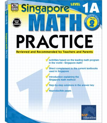 Singapore Math Practice, Level 1A Grade 2 9780768239911
