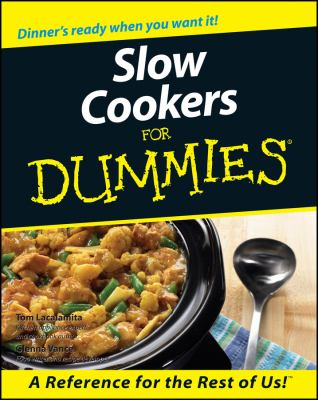 Slow Cookers for Dummies 9780764552403