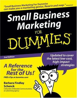 Small Business Marketing for Dummies 9780764578397