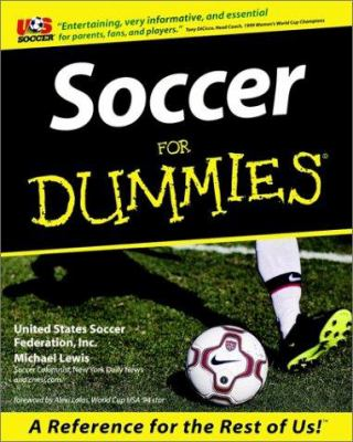 Soccer for Dummies. 9780764552298