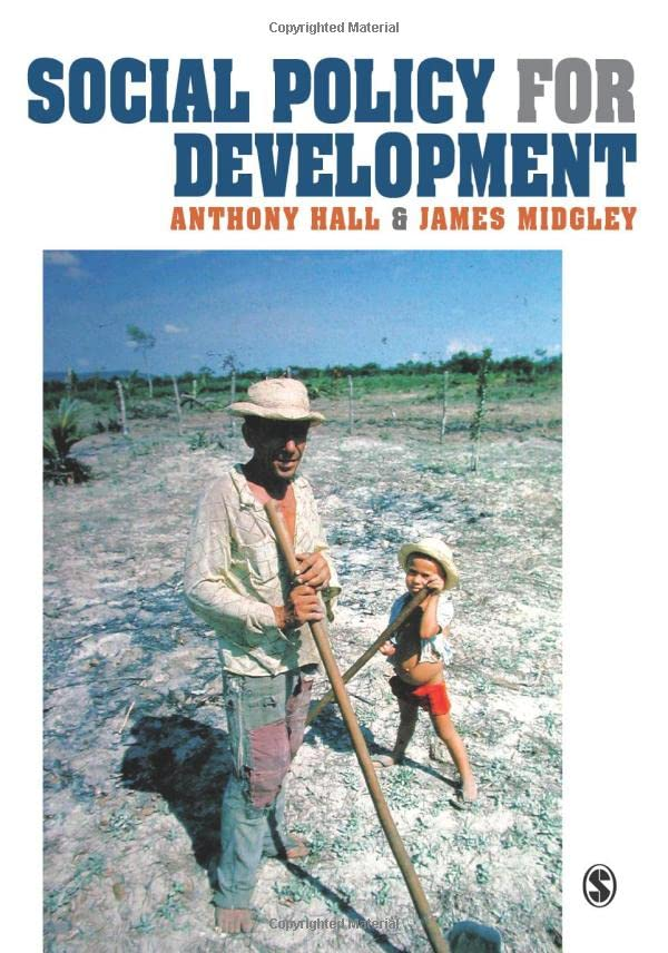 Social Policy for Development 9780761967156