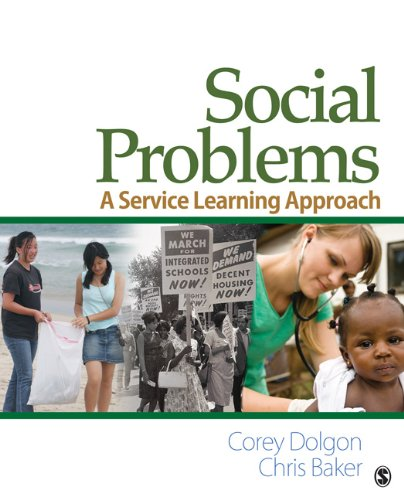 Social Problems: A Service Learning Approach 9780761929475
