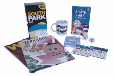South Park Kit: Dude, Sweet! [With 2 Movie Posters and 2 Pins, Magnet Game, Computer Cloth and Coffee Mug and Quiz Book] 9780762436828