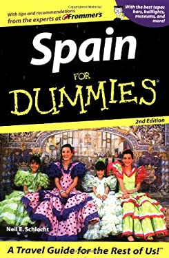 Spain for Dummies 9780764554957