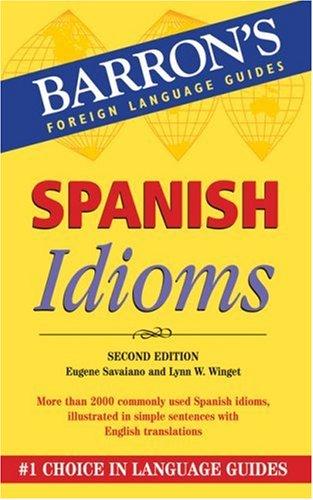Spanish Idioms 9780764135576