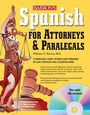 Spanish for Attorneys and Paralegals [With CD (Audio)] 9780764196119