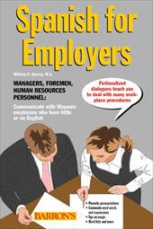 Spanish for Employers [With 2 Compact Discs]