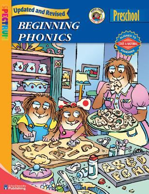 Spectrum Beginning Phonics, Preschool 9780769651590