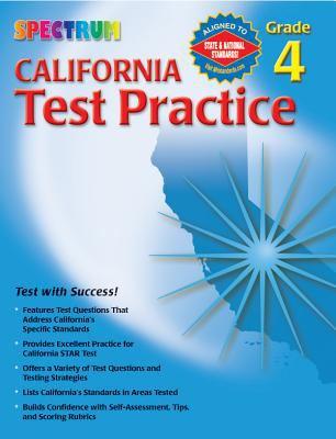 California Test Practice, Grade 4 9780769630045