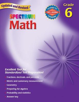 Spectrum Math: Grade 6 9780769636962