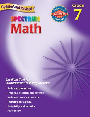 Spectrum Math: Grade 7 9780769636979