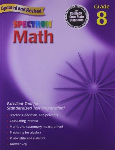 Spectrum Math: Grade 8 9780769636986