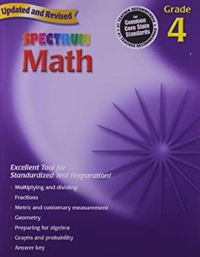 Spectrum Math, Grade 4 9780769636948