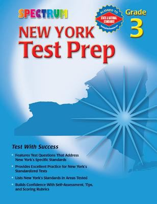 Spectrum New York Test Prep: Grade 3 9780769634937