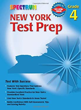Spectrum New York Test Prep: Grade 4 9780769634944