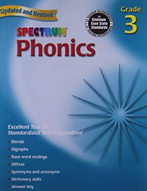 Spectrum Phonics: Grade 3 9780769682938