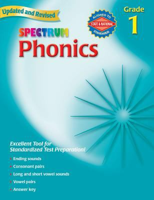 Spectrum Phonics, Grade 1 9780769682914
