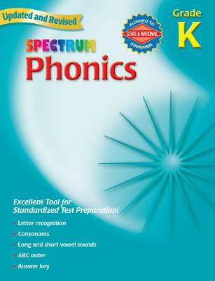 Spectrum Phonics Grade K 9780769682907