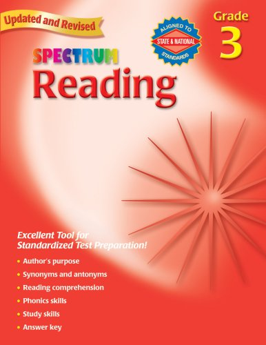 Spectrum Reading, Grade 3 9780769638638
