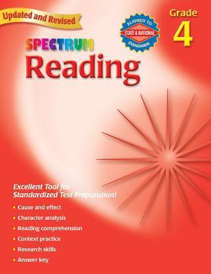 Spectrum Reading, Grade 4 9780769638645