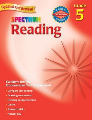 Spectrum Reading, Grade 5 9780769638652