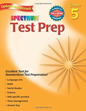 Spectrum Test Prep Grade 5 9780769686257