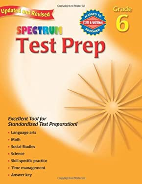 Spectrum Test Prep Grade 6 9780769686264