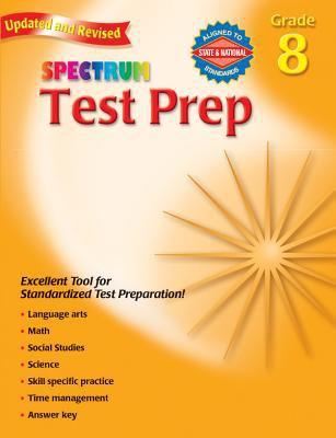 Spectrum Test Prep Grade 8 9780769686288