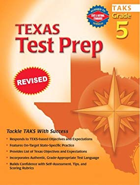 Spectrum Texas Test Prep, Grade 5 9780769630755