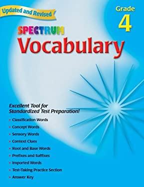 Vocabulary, Grade 4 9780769680842