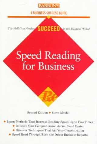 Speed Reading for Business Speed Reading for Business 9780764104015