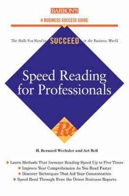 Speed-Reading for Professionals 9780764131998